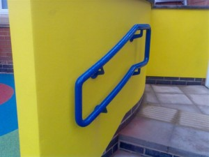 Powder Coated Hand Rail