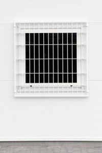 Commercial window grilles
