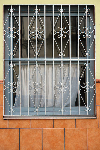 Window bars security grilles
