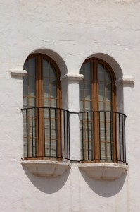 Two Juliette Balconies